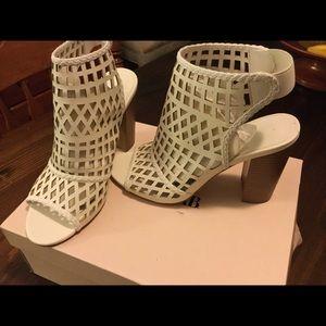 LIKE NEW! Malika Caged Heel Sandal